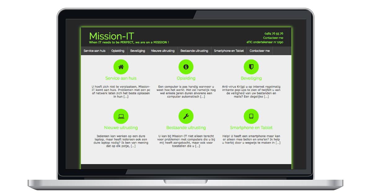 nieuwe website door an wens webdesign wijnegem
