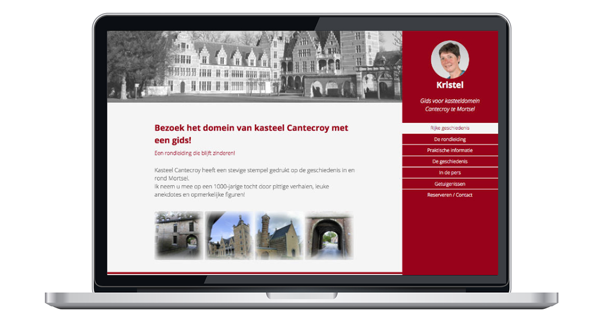 nieuwe website door an wens webdesign mortsel