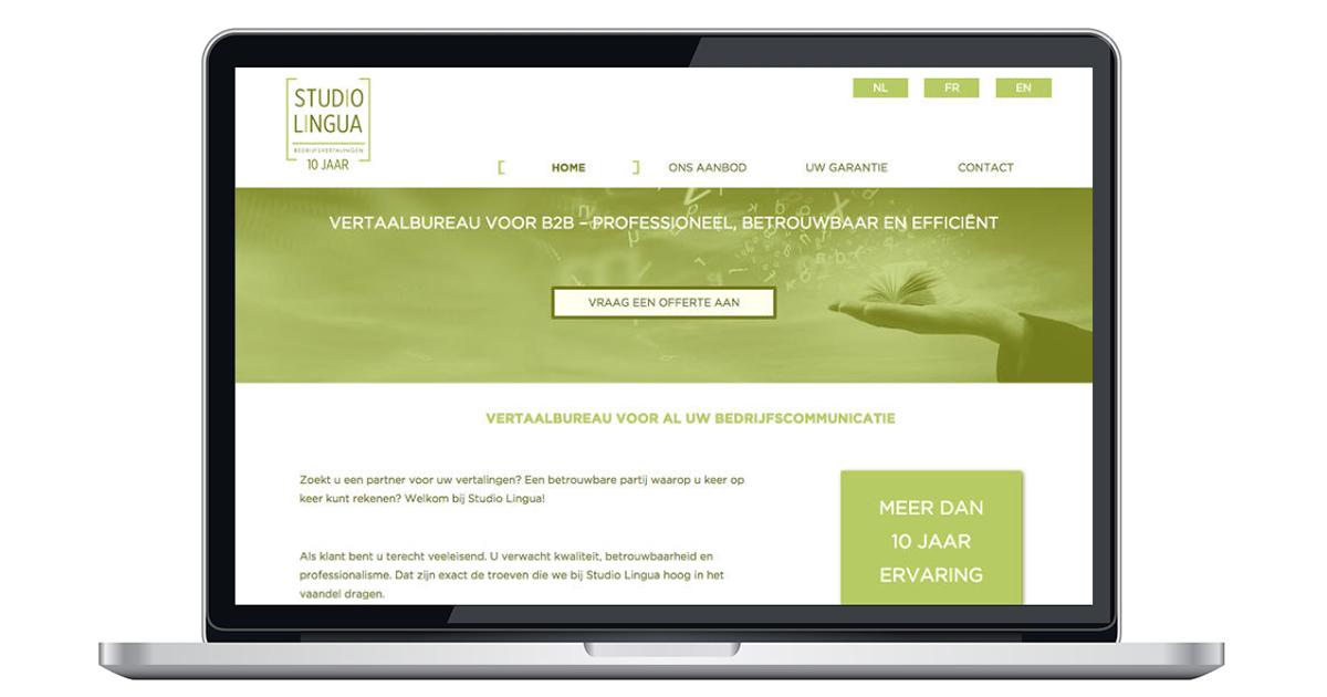 nieuwe website door An Wens Webdesign Ranst