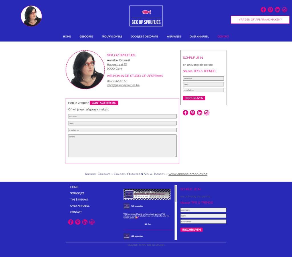 Webdesign An Wens