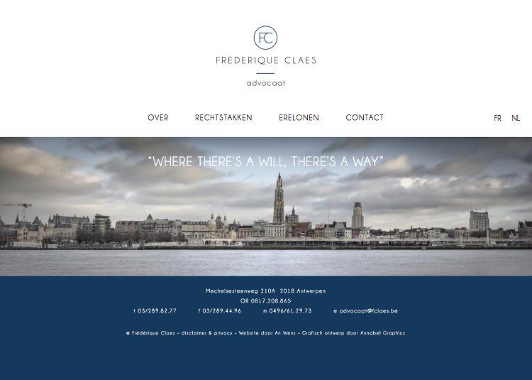 Advocate Frédérique Claes Antwerpen