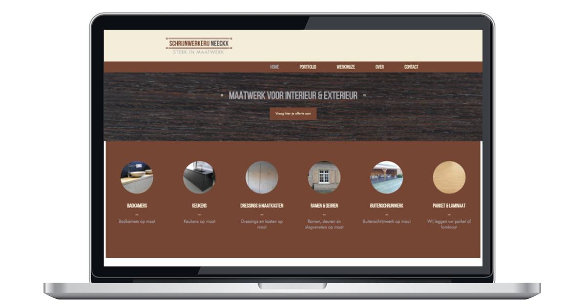 nieuwe website door an wens webdesign broechem