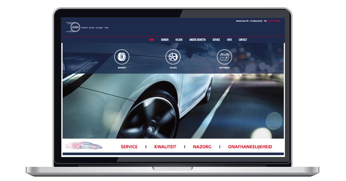 nieuwe website door An Wens Webdesign Grobbendonk