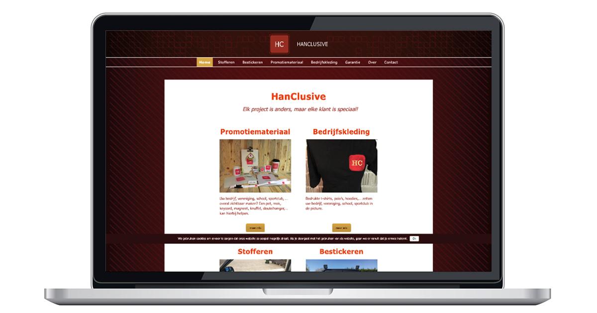 nieuwe website door An Wens Webdesign